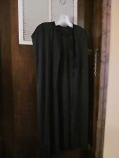 Boys Black Cape Halloween Cape