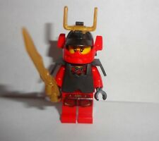 LEGO Ninjago Samurai X Minifigure with golden dragon sword new 9448 9566