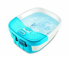 Foot Spa Bath Massager Heated Toe Control PEDICURE Bubble Water JET Acupressure