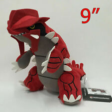 "Pokemon Groudon Plush Soft Toy Doll Stuffed Animal Teddy 9"""