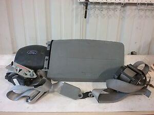 09 10 11 12 13 14 15 Ford E Series air bag set wheel passenger bag belts Gray