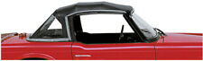 New Black Convertible Top Triumph TR6 W Zip Out Window Reflective Stripe Robbins