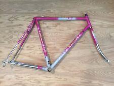 Rossin Columbus Slx Italiano Bici da Strada Frameset Forca Campagnolo Rosa 54cm