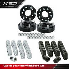 "4x1.25"" 5x114.3 to 5x127 Wheel Adapters Spacers for Jeep XJ ZJ TJ KJ+23 Lug Nuts"