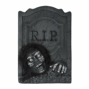 Beistle Zombie RIP Tombstone, 21-Inch by 13-1/2-Inch