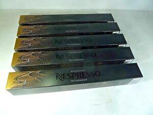 50 ORIGINAL NESPRESSO COFFEE CAPSULES PODS - MASTER ORIGIN NICARAGUA (Intens.:5)