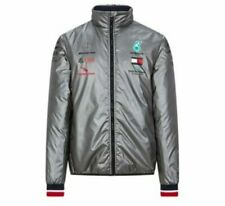 Brand New Official F1 Mercedes Benz Petronas AMG Padded Jacket Silver MENS LARGE