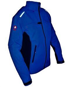 Krähe Softshelljacke Jacke Arbeitsjacke Freizeitjacke Arbeitskleidung Gr. S / XL