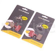 2 Pair Tektro Bike P20.11 Disc Brake Pads w/ Spring for OrionSL/Auriga Tune/TWIN