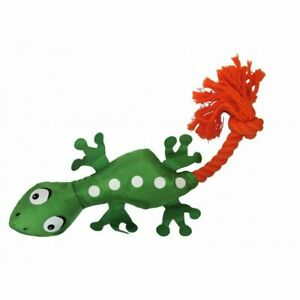 Good Boy Wild Tugs Lizard Dog Toy  Tuggy Fun With Rope