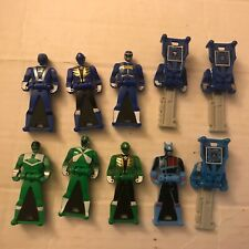 Power Rangers Key Super Megaforce Blue  Green Lot