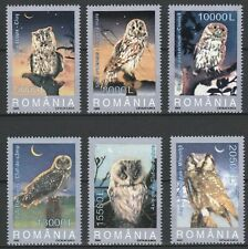 Romania 2003 Birds, Owls 6 MNH stamps