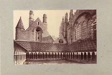 Mont-Saint-Michel - Puits de Moïse Dijon 2 Photos albuminées Vintage vers 1890