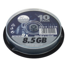 PLATINUM DVD+R Rohlinge 8,5 GB Double Layer 8x Speed 10er Spindel Cakebox
