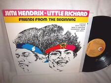JIMI HENDRIX/LITTLE RICHARD-FRIENDS FROM BEGINNING-ORL 8668-ITALY NO BC NM/NM LP
