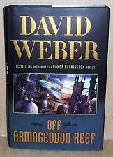 DAVID WEBER OFF ARMAGEDDON REEF HARDCOVER BOOK FIRST EDITION