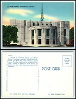 INDIANA Postcard - Indianapolis, Naval Armory F20