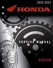 Manuale Officina Service Manual Honda CR 250 2002 2003 [ENG]