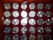 monedas españolas plata 2000 ptas, 12€,20€ y 30 €