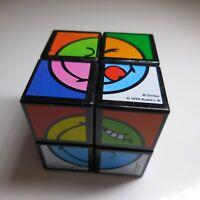 RUBIKS cube 1974 SMILEY WORLD CBT MCDONALD'D 2019 GERMANY N5507