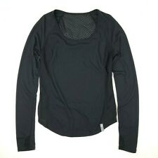 Women's Under Armour Long Sleeve Mesh Shirt Small Running Thumbholes Reflective
