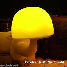 Smart Nightlight Motion Sensor Light LED Mushroom Lamp Sound Control Bedroom US