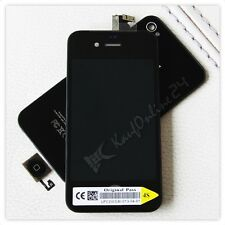 iPhone 4S Display Schwarz Original Retina LCD Bildschirm Umbau Komplett Set+Werk