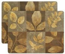New listing 2 Autumn Leaves Cork Back Placemats