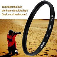 ZOMEI UV Filter Camera Lens Protector for Canon 52/55/58/62/67/72/77/82/86mm