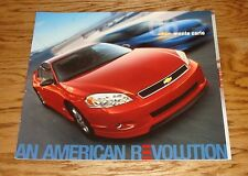 Original 2006 Chevrolet Monte Carlo Deluxe Sales Brochure 06 Chevy