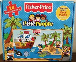 NEW Fisher Price 24 piece Treasure Island Floor Puzzle