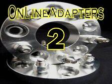 (2) 1INCH CHEVY PONTIAC WHEEL SPACERS ADAPTERS 5X4.75  5X120.7MM 7/16X20 STUD