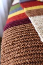 12 ft long Handmade Crocheted Doctor Who Tom Baker 4th Doctor Scarf - Full Size
