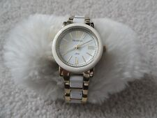 Armitron Now Quartz Ladies Water Resistant Watch - White and Silver Color