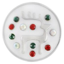 Fits Ginger Snap Reindeer Ginger SNAPS Charm Magnolia Vine Jewelry 18mm Button