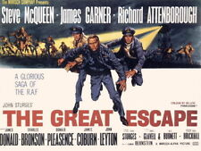 "009 Steve McQueen - The Great Escape Movie18""x14""Poster"