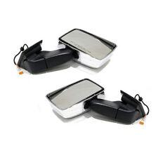 Oem New Outside Front Door Mirror Right & Left Set Chrome 08-10 Hummer H3 H3T (Fits: Hummer)
