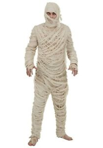 Adult Egyptian Mummy Classic Monster Costume SIZE S (Used)