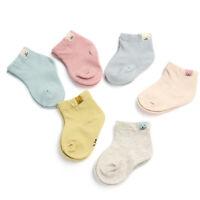 1 Pair Autumn Cotton Unisex Baby Newborn Fresh Candy Color Baby Cute Socks Short
