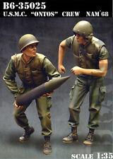 Bravo6 1:35 USMC Ontos Crew Vietnam War - 2 Resin Figures #B6-35025