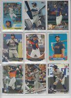 George Springer baseball cards (9) 3X All-Star - 2017 World Series MVP - Astro