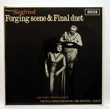 SXL 6142 WB UK - GEORG SOLTI - WAGNER siegfried forging scene DECCA LP EX++