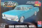 AMT ERTL Resto Rods 1966 Chevrolet Nova (2 Kits in 1) 1:25 Scale 38373-1HD Kit