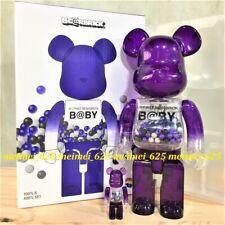 Bearbrick Medicom 2020 Macau Exclusive My First Baby Purple 100% 400% Be@rbrick