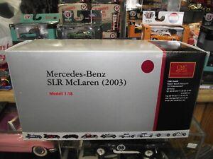 CMC 1/18 2003 Mercedes Benz SLR McLaren maroon NIB