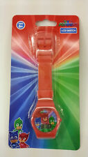 ENTERTAINMENT ONE PJ MASKS RED KID DIGITAL LCD WATCHES 100% ORIGINAL MUST L@@K