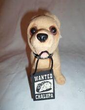 """Wanted Chalupa Taco Bell Chihuahua Dog 6"""" Plush Soft Toy Stuffed Animal"""