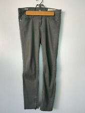 Rag & Bone Jean Zipper Capri Pant Jeans Sage Green Gray Sz 32-34 (Tagged 29)