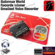 Edic Mini Tiny+ B76 Digital Voice Recorder Listening Device Activated No Spy MIC