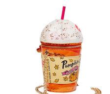 NWT Betsey Johnson Kitsch Sweata Weatha Crossbody BJ86865F - Pumpkin Spice Latte